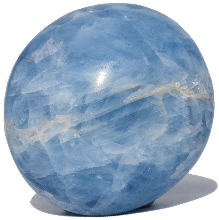 Blue Calcite Gem Stone - Bella Rok - Finest Hand Selected Crystal , Stones and Minerals
