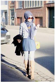 terakhir Gaya Hijab modern Cocok untuk mini-dress terlihat Tetap Sopan  terakhir…