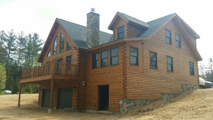 81 best Log Home Exteriors images – Cedar Log Home Floor Plans