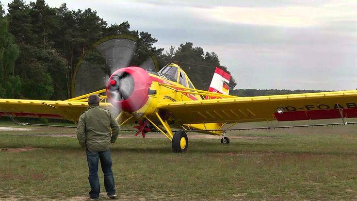 PZL-106 Kruk D-FOAB Ankunft 5.Agrarfliegertreffen in Gardelegen