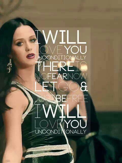 Unconditionally | Katy Perry