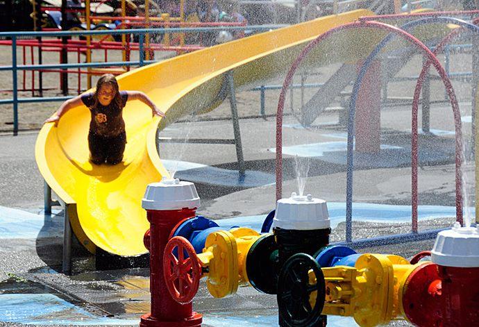 Family-friendly Fun in Parksville Qualicum Beach - Lions Ventureland Playground at Parksville Community Park   bcliving