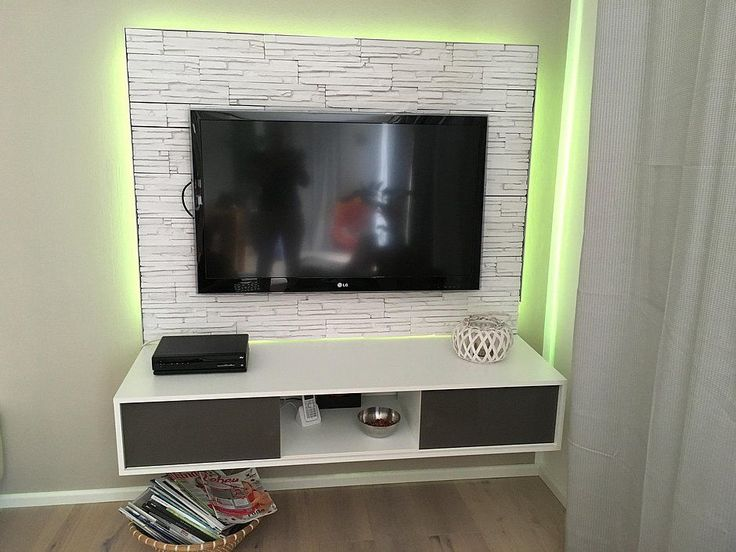 17 best ideas about tv wand mit led on pinterest tv wand. Black Bedroom Furniture Sets. Home Design Ideas