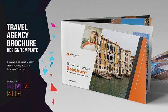 Holiday Travel Brochure Design v1 by Miyaji75 on @creativemarket