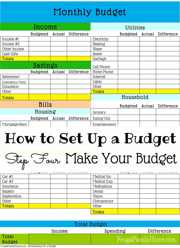 25+ best ideas about Printable budget sheets on Pinterest   Budget ...