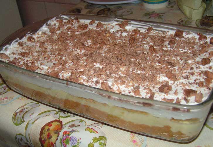 Almás vaníliás fincsiség, sütés nélküli finomság! Kellemes őszies ízek!