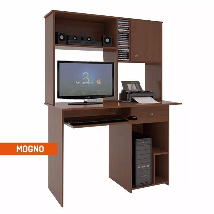 Mesa Pc Con Alzada Orlandi Super Oferta Mesas Desks