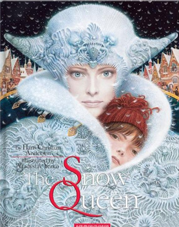 """You will get both: a book and bead embroidery kit  1. """"The Snow Queen"""" a beautiful reworking of Hans Christian Andersen's classic tale of a young girl called Gerda and her struggle against an evil and icy foe. Beautiful special limited edition.  This book is in English.  2. """"The Snow Queen takes Kay away"""" scene - bead embroidery kit. Beaded embroidery kit contains printed canvas, large orifice needle, beads to complete embroidery finishing of a pattern, manual in English. Manufacturers do"""