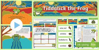 Tiddalick the Frog Activity Pack-Australia
