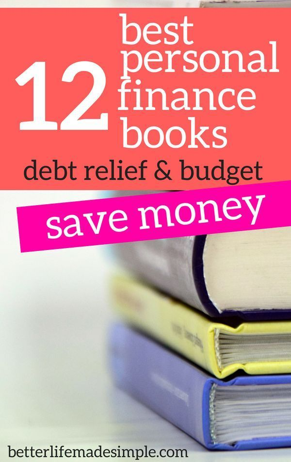 12 best personal finance books budget save money debt relief