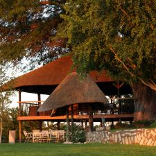 Come and enjoy a sundowner from our wooden deck and gaze over Stampriet.