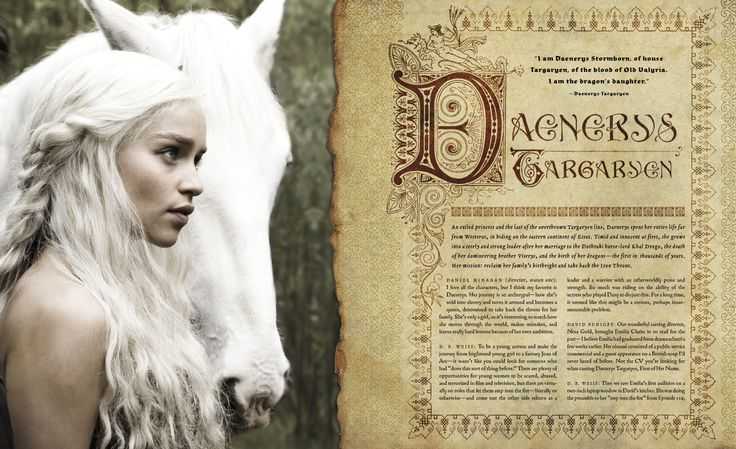 "Winter is coming... to your coffee tables thanks to this newly-released behind the scenes tome! Check out Daenerys Stormborn's spread in ""Inside Game of Thrones,"" the only official book for the HBO series #GameOfThrones."