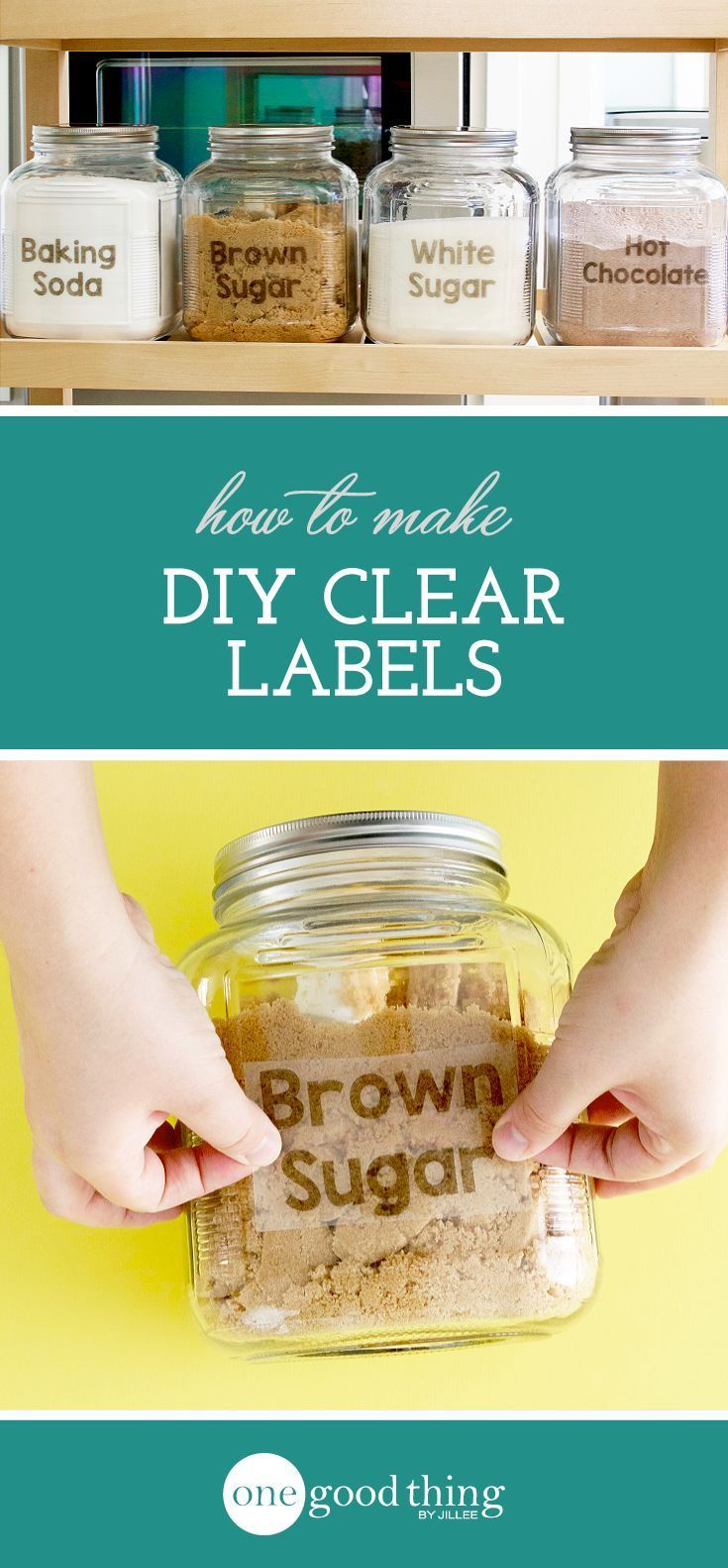 Learn How To Use Your Inket Printer And Some Packing Tape To Make Your Own Clear Custom Labels You Won T Bel Custom Printed Labels Printing Labels Diy Labels