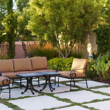 Greek Backyard Designs garden patio simple side yard landscaping house design ranch greek countryside tectus freshome Mediterranean Landscape Design