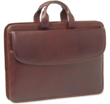 $189 Johnston & Murphy Portfolio Briefcase - way less expensive at the outlet store in Nashville than online. (twice the price online)