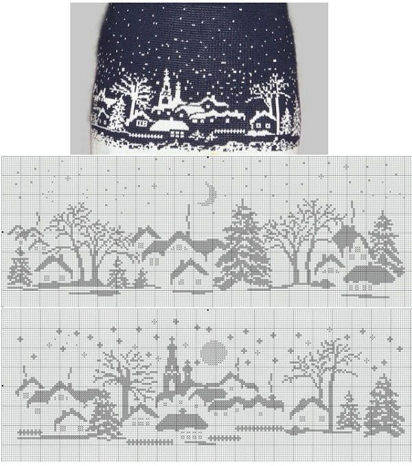 Not sure what you'd make with this pattern but its lovely!