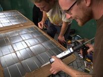 Build your own solar panels...
