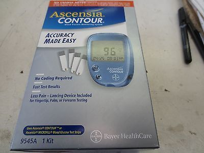 Ascensia Contour Blood Glucose Monitoring System 9545a