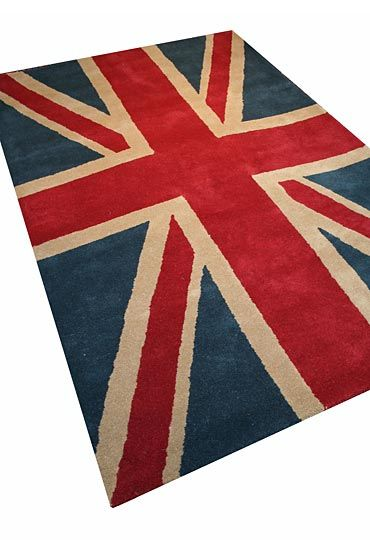 Wovenground | Modern Rugs | Union Jack - Vintage Rugs 200 x 285cm £379