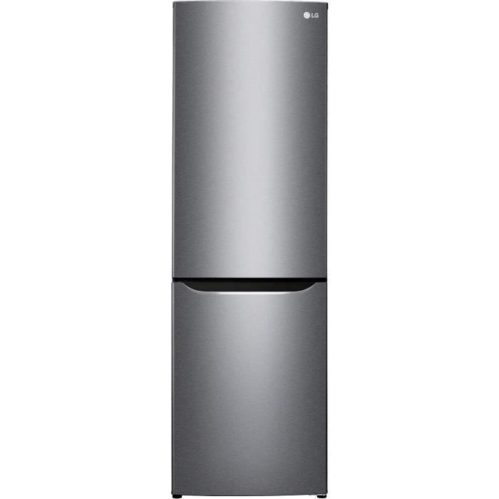 congélateur bas-318L ( 223 + 95 L)-Froid ventilé total no frost-A++-L 59,5 x H 190,7 cm-Silver