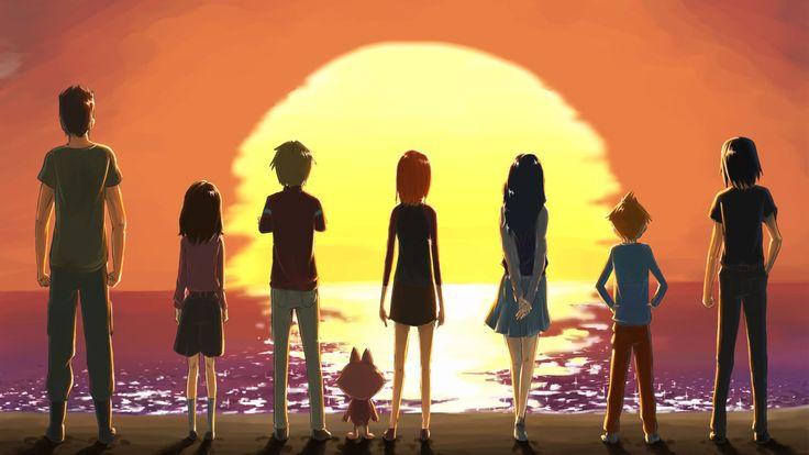 Anime - Uninhabited Planet Survive!