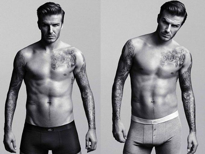 David Beckham ha dado a conocer su nueva colección para H&M en la que se podrán ver chalecos, briefs, t-shirts, pijamas y calzoncillos largos.