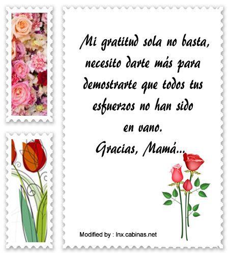 mensajes de texto de agradecimiento a mi Madre,palabras de agradecimiento a mi Madre: http://lnx.cabinas.net/palabras-de-reconocimiento-para-mi-madre/