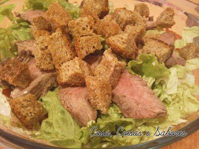 Casa, Coisas e Sabores: Salada de carne thai