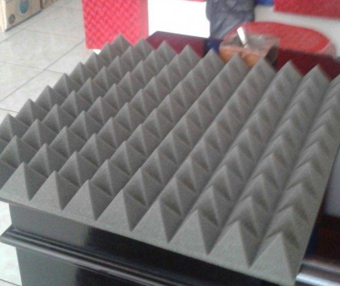Jual busa peredam suara akustik pyramid foam  - cp:089640556753
