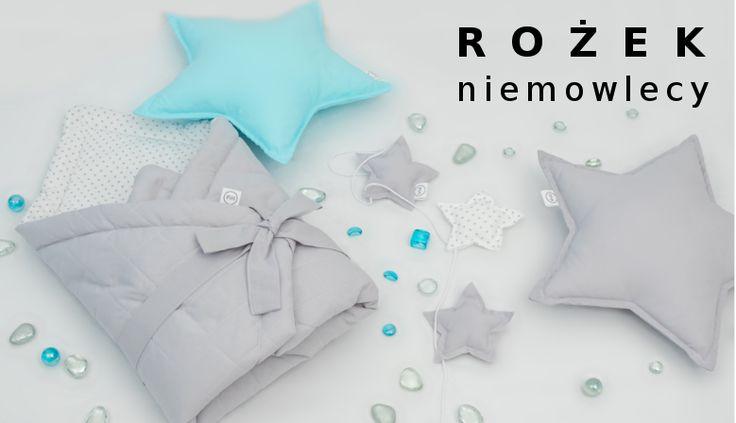 Rożek niemowlęcy, Rożek, Kocyk, Otulacz, rożek pikowany, rożek pastelowy, otulacz pastelowy, rożko-kocyk, szary rożek, wyprawka, www.betulli.pl
