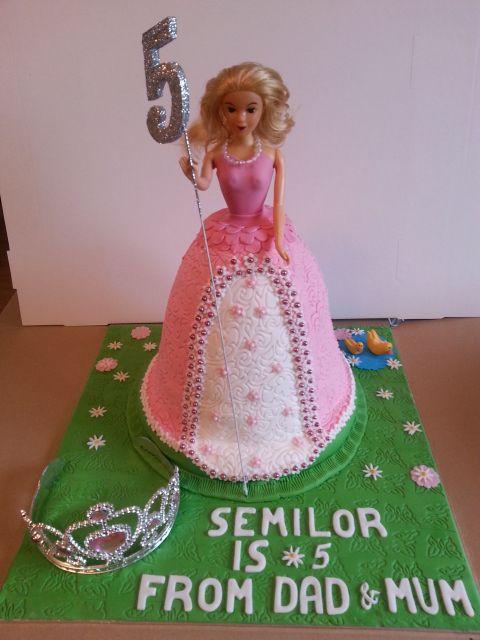 Princess Cake By Sheila's Cake Creations Essex UK
