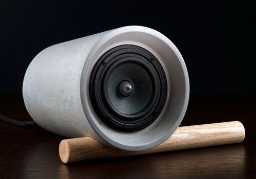 JACK concrete speaker.