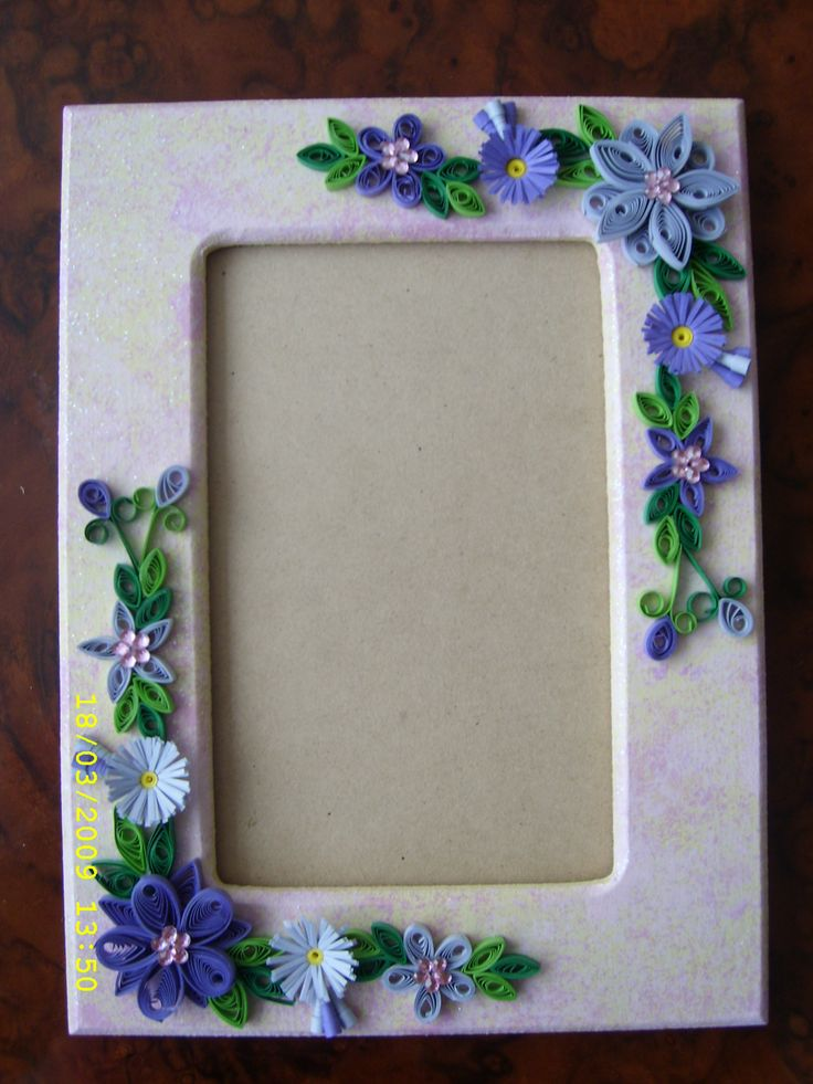 Easy Quilling Designs For Photo Frames Photograph