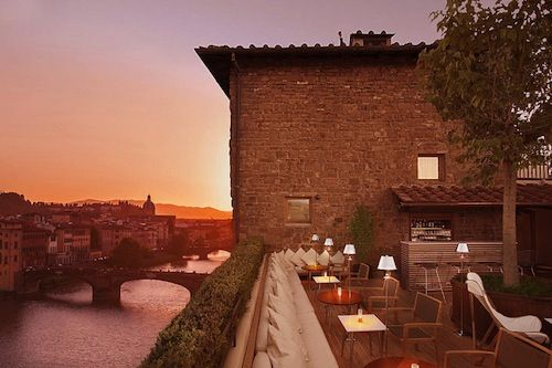 La Terrazza Florence | magnificient views over Florence Italy