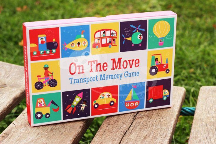 Dětská hra pexeso -Dopravní prostředky