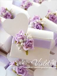 lilac and white wedding invitation - Google Search