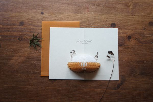 Pop-Up Card - Merci from Camélia