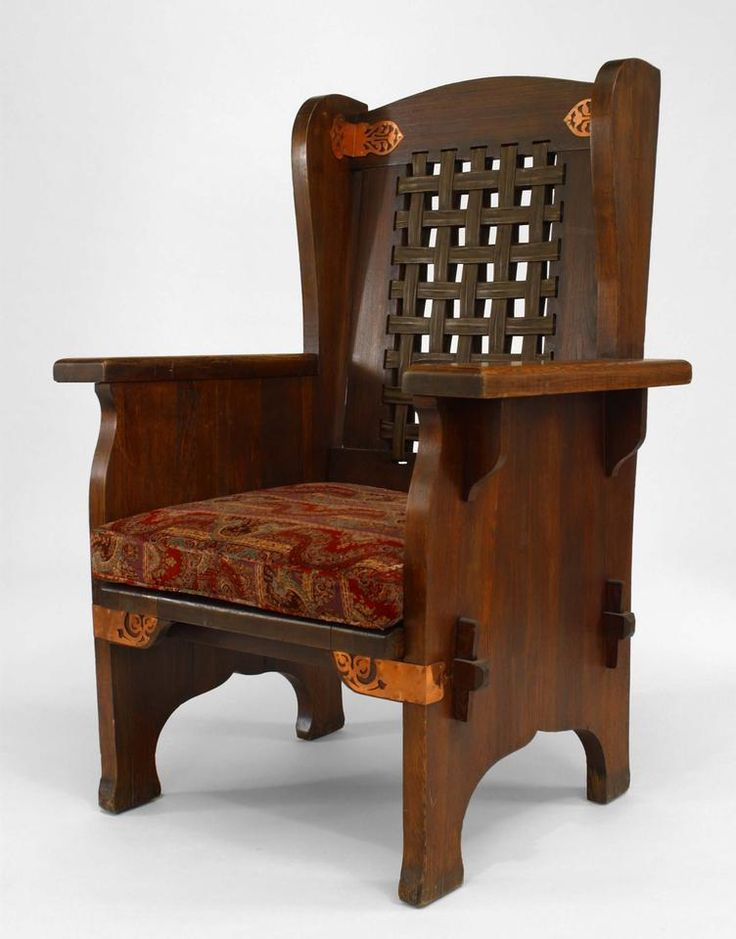 american mission seating chairwing chair oak