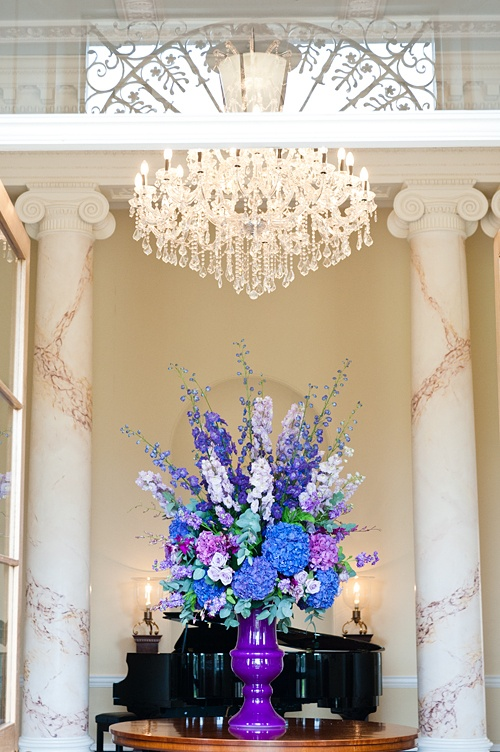 Botleys Mansion Entrance Flowers - Emma Lappin Flowers
