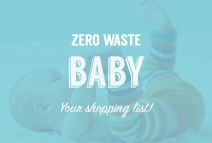 Check out all the products that you will need for your zero waste baby such as cloth diapers, bamboo wipes and plastic-free toys.  http://store.detrashed.com