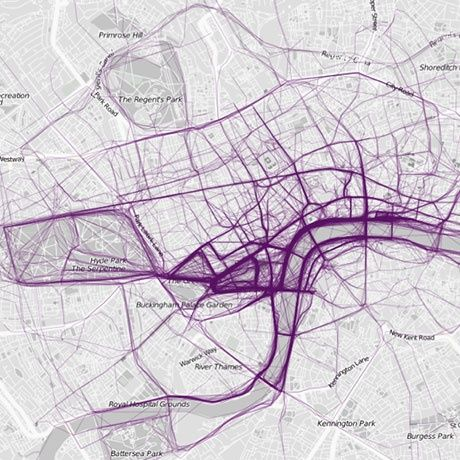 Where we run: maps of cities using public running data – in pictures | Life and style | theguardian.com