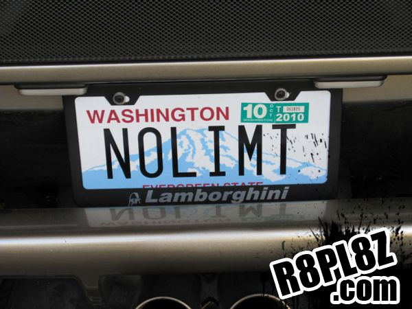 Attractive NOLIMT « Rate Funny License Plates And Cool Vanity Plate Ideas U0026 Sayings