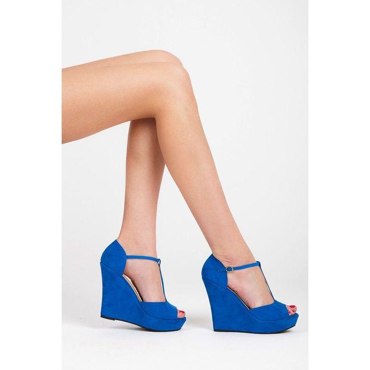 Elegantné semišové sandále LM-513L.BL
