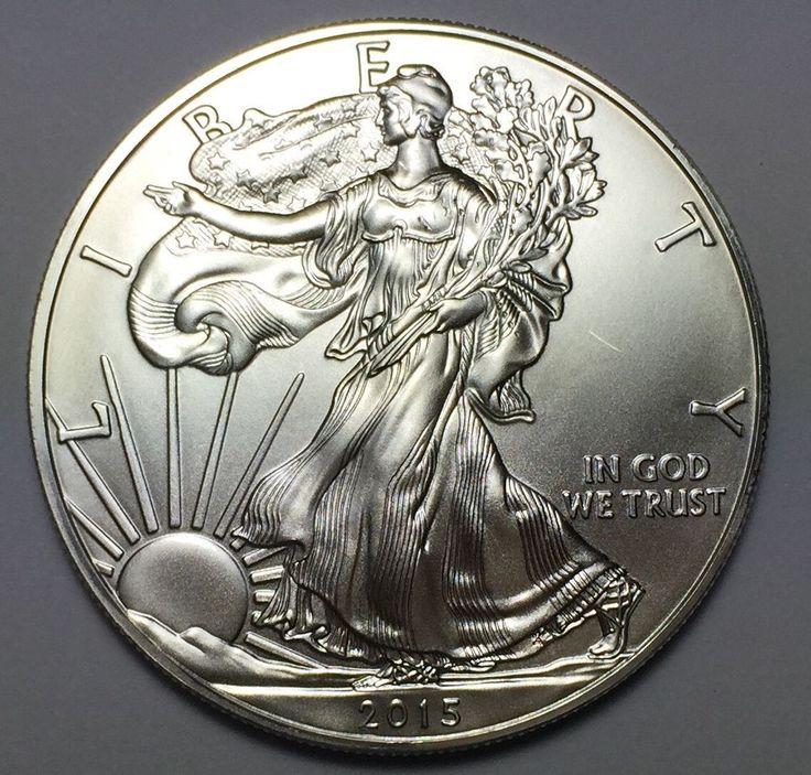 2015 Silver American Eagle 1 Oz 999 Fine One Dollar Bu
