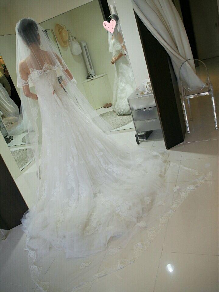 ウェディングドレス ドレス試着 weddingdress ソフトマーメイド