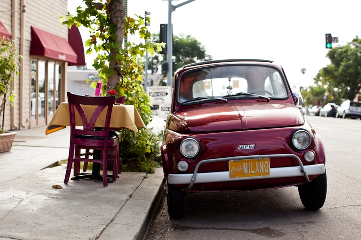 Simply beautiful...Fiat 500 vintage.