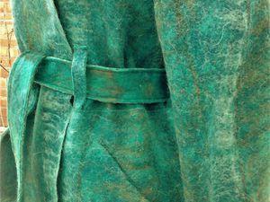 Как сделать красивый карман на валяных изделиях | Ярмарка Мастеров - ручная работа, handmade