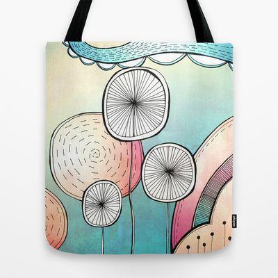 Spring Pop Landscape Tote Bag by Jessica Wilde - $22.00