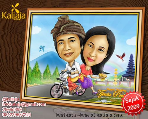 jasa karikatur wajah digital keren www.kaliaja.com
