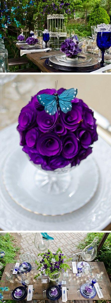 Springtime Garden Wedding Theme Inspiration